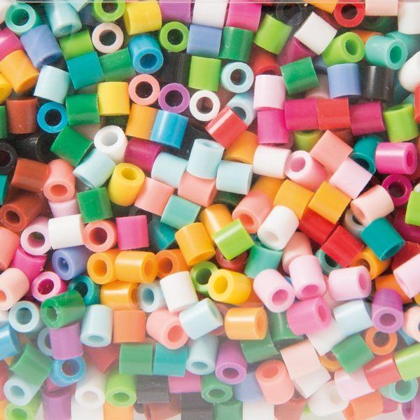 【小福部屋】【基本款】日本 拼豆串珠 2500顆 創意手作 拼拼豆豆 【新品上架】