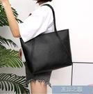 手提包 大包包女新款潮托特包學生簡約百搭大容量韓版休閒單肩 快速出貨