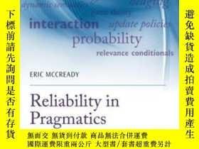 二手書博民逛書店Reliability罕見In PragmaticsY364682 Eric Mccready Oxford