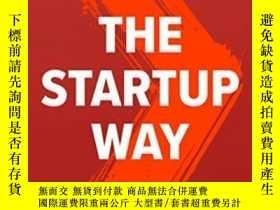 二手書博民逛書店The罕見Startup WayY256260 Eric Ries Currency 出版2017