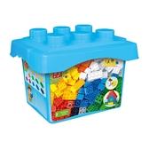 【BanBao 積木】基礎教育系列-大顆粒創意桶76片 8470