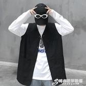 Mapogo 19韓國bf復古工裝無袖背心馬甲百搭馬甲外套學生潮男女款 時尚芭莎