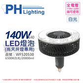 PHILIPS飛利浦 LED 140W 6500K 白光 120度 E40 全電壓 IP40 天井燈專用燈泡 _ PH520530