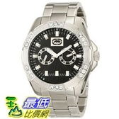 [104美國直購] Marc Ecko Men s E13561G2 The Henly Silver Black Classic Analog Watch