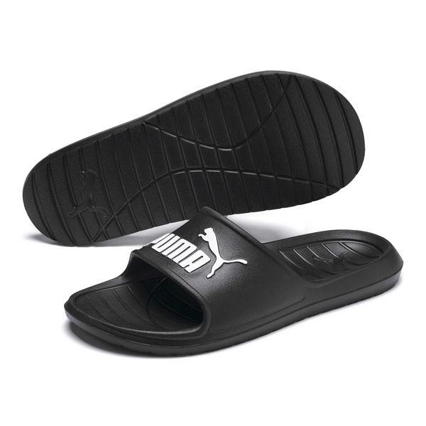 Puma Divecat V2 黑色 男 拖鞋 運動拖鞋 皮革 厚底 防水 一體成形 舒適 輕量 36940001