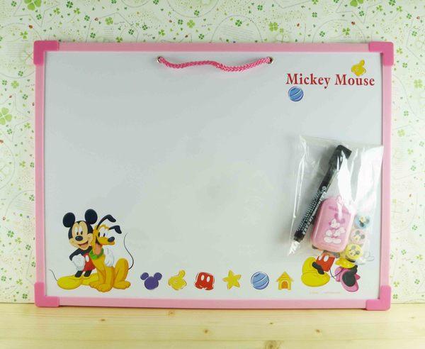【震撼精品百貨】Micky Mouse_米奇/米妮 ~白板-粉