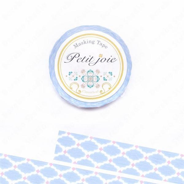 【絕版品】藍色花磚 Nichiban Petit Joie和紙膠帶【NICHIBAN】