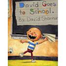 『繪本123‧吳敏蘭老師書單』『童書久久書單』 DAVID GOES TO SCHOOL  /英文繪本
