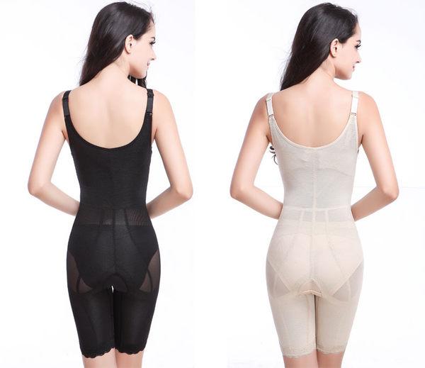 薄款加強型產後束身衣連體四季薄款重壓型收腹衣-ziy0119