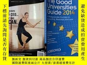 二手書博民逛書店THE罕見GOOD UNIVERSITIES GUIDE to