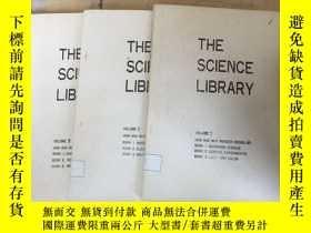 二手書博民逛書店THE罕見SCIENCE LIBRARY.VOLUME1.2.3