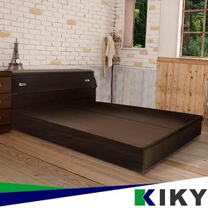 赫卡忒 六分板床底雙人5尺(胡桃色/白橡色)