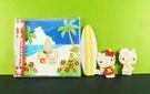 【震撼精品百貨】Hello Kitty 凱蒂貓~CD盒附造型磁鐵-衝浪