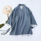 茶服 漢服女中國風禪意女裝改良中式茶服女上衣女禪修服女棉麻唐裝盤扣 寶貝計畫