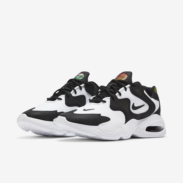 【12周年慶跨店折後$2680】Nike Wmns Air Max 2X 白 黑 女鞋 復古 慢跑鞋 氣墊 運動鞋 CK2947-100