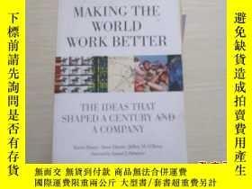 二手書博民逛書店Making罕見the World Work Better: T