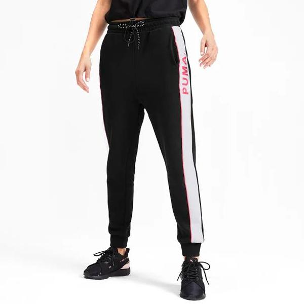PUMA Chase 女裝 長褲 慢跑 拉繩 透氣 束口 黑【運動世界】59522651
