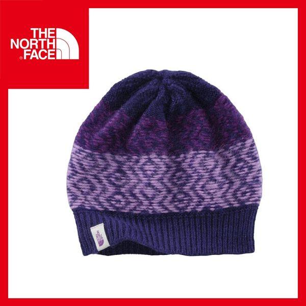 【The North Face 編織保暖帽《石榴紫/嫵媚紫》】CLM8/毛帽/戶外/休閒/賞雪