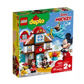 【LEGO 樂高 積木】 LT-10889 得寶 Duplo 米奇的度假小屋(57pcs)