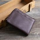 【Solomon 原創設計皮件】黑麋鹿 卡片夾 零錢包 真皮皮質柔軟可放信用卡零錢