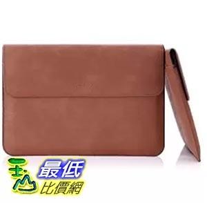 [美國直購] MoKo B00U8MP5VY 棕色 Microsoft 收納套 保護套 Surface Pro 3 / Pro 4 12-Inch Sleeve Bag