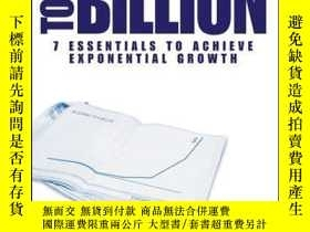 二手書博民逛書店Blueprint罕見to a Billion: 7 Essentials to Achieve Exponent