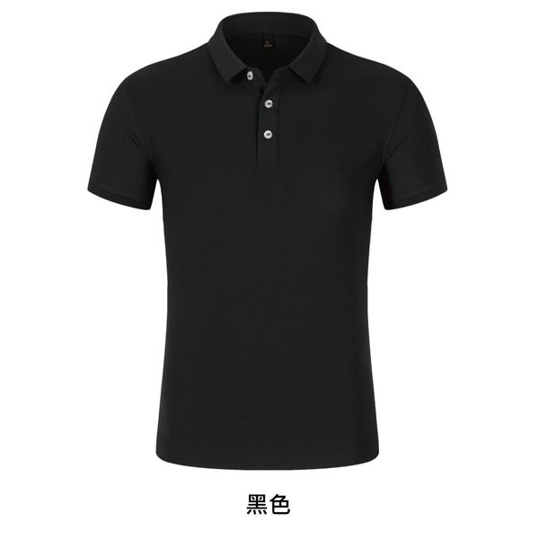 【晶輝團體制服】LS85691-短袖滾邊配色POLO衫素面款式(印刷免費)一件也做,快速交貨