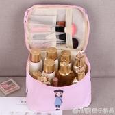 網紅化妝包INS風超火化妝品收納袋簡約便攜旅行隨身手拿包小方包   (橙子精品)