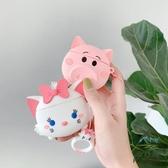 粉色可愛小豬airpods1 2代保護套蘋果無線藍牙硅膠耳機套【步行者戶外生活館】