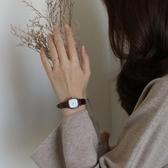 手錶女 伴朵手表女ins風學生2020年新款簡約細帶小巧氣質復古女士冷淡風