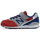 New Balance 996 童鞋 中童 慢跑 寬楦 網布 耐磨 紅 藍【運動世界】KV996RG