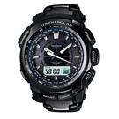 CASIO Pro Trek 太陽能電波運動腕錶/ PRW-5100YT-1DR