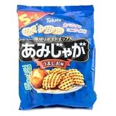 日本 東鳩五袋網狀鹽味洋芋片 17gx5公克