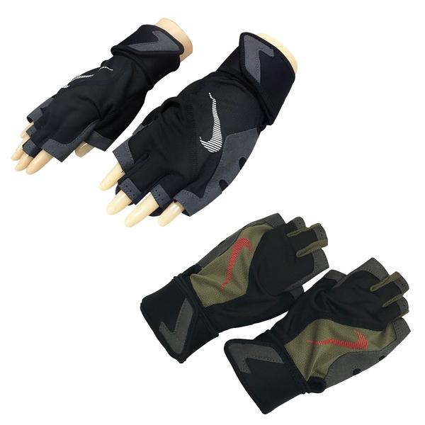 NIKE 健身房重訓手套 男用高階訓練手套 ATHLETIC TRAINING系列 NLGC1 【樂買網】