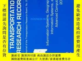 二手書博民逛書店Transportation罕見Research Record (TRR TRB ) NO.2291 2012 運