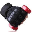 半指手套男運動戶外格斗秋冬季健身登山防滑騎行露指戰術手套快速出貨