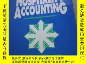 二手書博民逛書店Hospitality罕見Accounting精裝Y21714