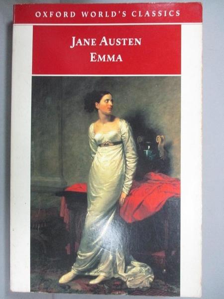 【書寶二手書T2/翻譯小說_JBY】Emma_Austen, Jane/ Kinsley, James (EDT)/ Pinch, Adela (INT)