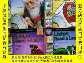 二手書博民逛書店罕見Listen,Read,&Learn+Listen,Read,&Learn1+Listen,Read,&Lea