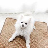 寵物窩寵物涼席墊狗窩夏天狗墊子泰迪夏季降溫床墊貓咪涼墊冰墊狗狗igo 貝兒鞋櫃