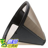 [104美國直購] KRUPS F0494210 Gold Tone Permanent Filter, Black 過濾器