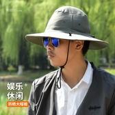 防蚊帽戶外釣魚帽子太陽防曬帽透氣隱藏式垂釣防蚊帽頭罩面紗遮陽面罩快速出貨