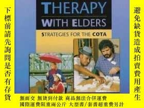 二手書博民逛書店Occupational罕見Therapy with Elders: Strategies for the Cot