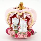 三麗鷗凱蒂貓 Hello Kitty 浪漫KT婚禮薰香夜燈 禮物 婚禮 情人