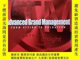 二手書博民逛書店Advanced罕見Brand Management:From
