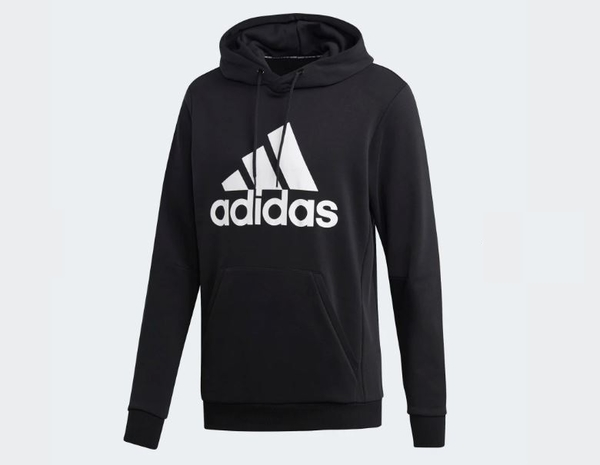 Adidas MUST HAVES BADGE OF SPORT HOODIE 男款連帽上衣-NO.DQ1461