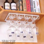 創意酒杯架高腳杯架 鐵藝懸掛紅酒杯葡萄酒杯架 倒掛家用酒柜酒架【叢林之家】