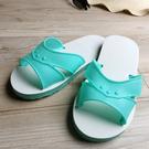 台灣製造-橡膠H拖(藍白拖鞋) -果綠...