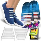 鞋帶 創意鞋帶QuickSheLace免系懶人扣彈力鬆緊免綁一腳蹬鞋帶男女適用【美物居家館】