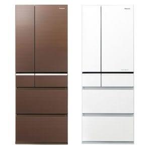 無贈品【國際牌】500L六門冰箱-翡翠白 NR-F503HX-W1